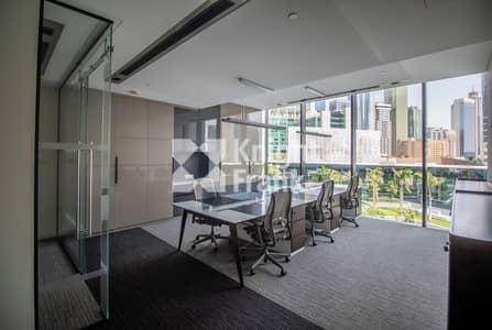 مکتب  للايجار في مركز دبي المالي العالمي، دبي - Micro Office | Service Charge DEWA Chiller Included