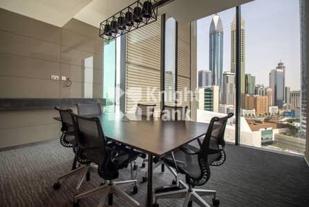 مکتب  للايجار في مركز دبي المالي العالمي، دبي - Many Options | Furnished | 1 Month Grace Period