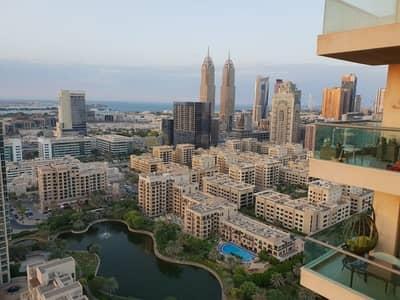 فلیٹ 2 غرفة نوم للايجار في ذا فيوز، دبي - BEST VIEWS|SPACIOUS|2 BHK+Study+Laundry|HIGH FLOOR