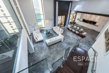 شقة 2 غرفة نوم للايجار في جميرا بيتش ريزيدنس، دبي - 2BR Duplex Loft| Fully Upgraded |Sea View