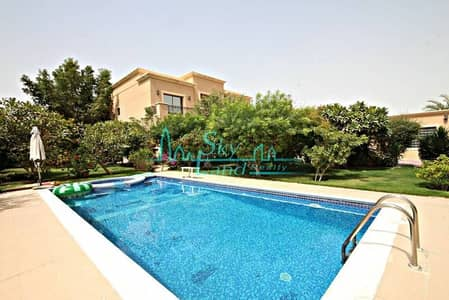 LOVELY 5BR+MAIDS+DRIVERS VILLA WITH PRIVATE POOL AND GARDEN IN AL BARSHA 3