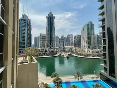 2 Bedroom Flat for Rent in Dubai Marina, Dubai - Spacious 2BR  + Study | Marina View