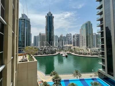 فلیٹ 2 غرفة نوم للايجار في دبي مارينا، دبي - Spacious 2BR  + Study | Marina View