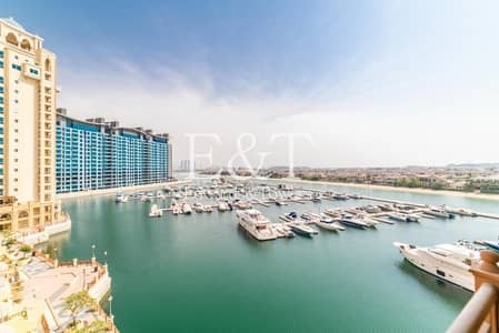 3 Bedroom Flat for Sale in Palm Jumeirah, Dubai - Sunset View | Upgraded Marble Flooring | Marina 2