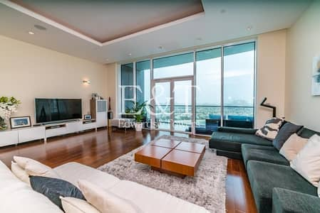 3 Bedroom Apartment for Rent in Palm Jumeirah, Dubai - High Floor | Upgraded Open Plan Kitchen