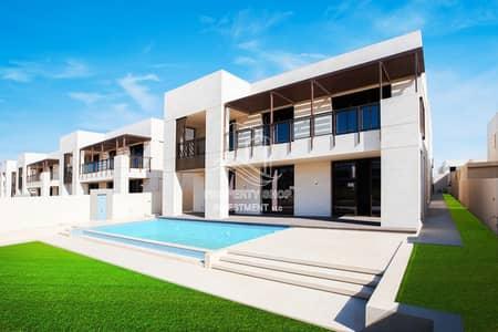 فیلا 7 غرف نوم للايجار في جزيرة السعديات، أبوظبي - ?Hot Deal!?Incredibly Beautiful Beach Mansion w/ Pvt Pool