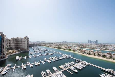 فلیٹ 3 غرف نوم للبيع في نخلة جميرا، دبي - Rented Till October 2021 | Full  Atlantis View