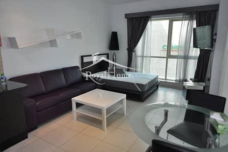Studio for Rent in Dubai Marina, Dubai - Chiller free| studio| Furnished | sea view
