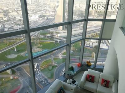 4 Bedroom Flat for Rent in World Trade Centre, Dubai - High Floor l Duplex Unfurnished 4Bedroom I with Storage Room