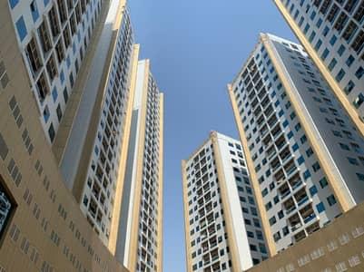 شقة 1 غرفة نوم للايجار في عجمان وسط المدينة، عجمان - شقة في أبراج لؤلؤة عجمان عجمان وسط المدينة 1 غرف 18000 درهم - 5127434