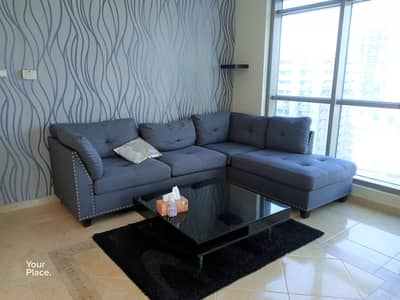 1 Bedroom Flat for Rent in Dubai Marina, Dubai - Multiple Cheques - Balcony - Well Mantained