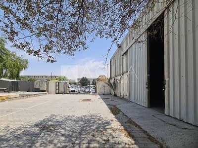 مستودع  للايجار في القوز، دبي - Independent Warehouse | Yard | High power
