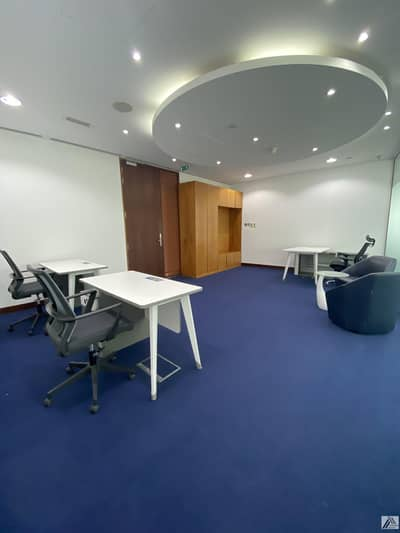 Office for Rent in Bur Dubai, Dubai - Deal of the weak | 1 payment | Independent Fully Furnished /Serviced Office/Linked with Burjuman Mall and Metro