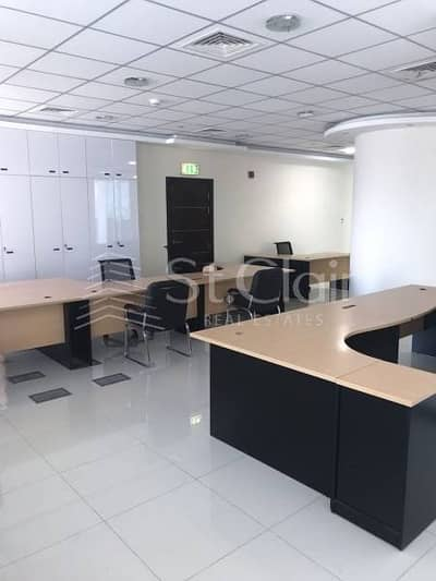 Amazing fully furnished office for rent.