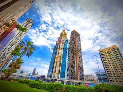 2 Bedroom Apartment for Rent in Sheikh Zayed Road, Dubai - SEA VIEW!BURJ VIEW!1 MONTH FREE! SEMI FURNISHED KITCHEN!