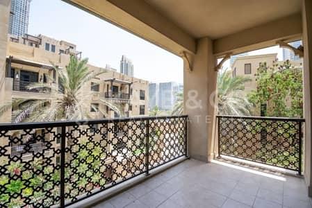 شقة 1 غرفة نوم للبيع في المدينة القديمة، دبي - Low Floor | Community  View | Spacious Balcony