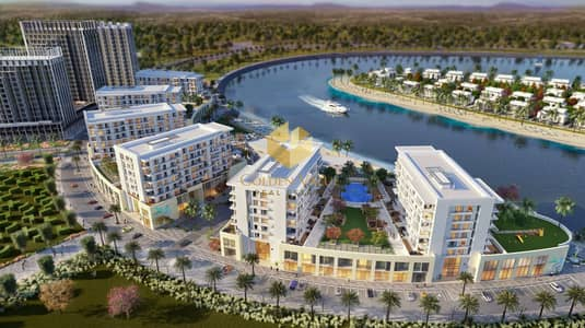 1 Bedroom Apartment for Sale in Sharjah Waterfront City, Sharjah - stunning sea view | Smart 1 Bedroom | 4 years payment plan