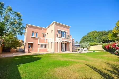 فیلا 5 غرف نوم للبيع في المرابع العربية، دبي - Biggest Plot | Golf Course View | Vastu Compliant