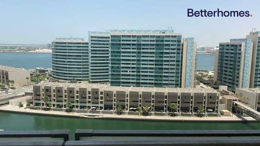 شقة 1 غرفة نوم للايجار في شاطئ الراحة، أبوظبي - Sea view | High Floor | Available in June
