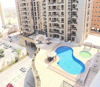 شقة 1 غرفة نوم للبيع في واحة دبي للسيليكون، دبي - High Floor | Corner Unit | Pool View