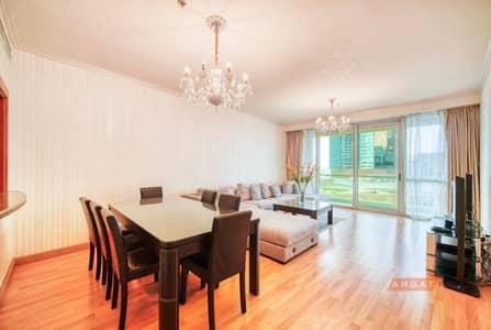 فلیٹ 3 غرف نوم للبيع في جميرا بيتش ريزيدنس، دبي - Sea View