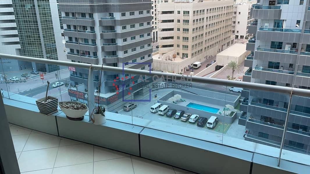 8 furnished!!chiller free balcony 1 bedroom@38k