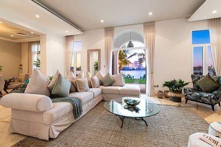 6 Bedroom Villa for Rent in Palm Jumeirah, Dubai - D Malibu/ Great Rotunda/ Private Pool