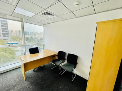Office for Rent in Madinat Zayed, Abu Dhabi - Professionally Decorated Fully Furnished Office With A Magnificent VIew