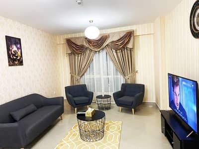 شقة فندقية 2 غرفة نوم للايجار في أبراج بحيرات الجميرا، دبي - 5000 / - الايجار الشهري مفروشة بالكامل مثل شقة فندقية غرفتين نوم للايجار في برج ايكون
