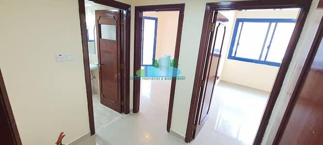 فلیٹ 2 غرفة نوم للايجار في شارع حمدان، أبوظبي - Large 2 BHK|Balcony |4 Payments | Family Sharing