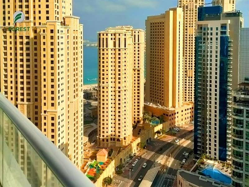 10 Spacious | 3BR | Marina and Sea View | High Floor