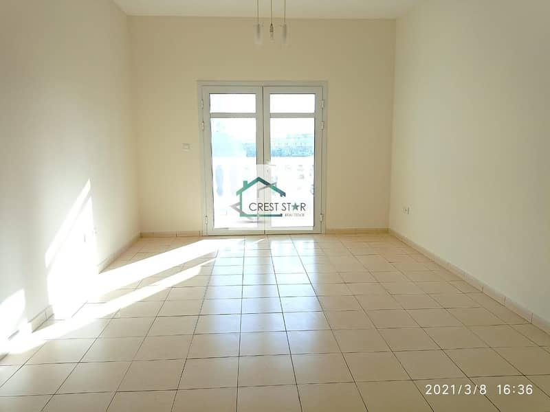 Large BHK with big balcony plus maids room with balcony
