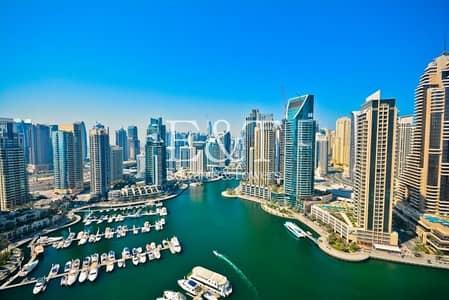 فلیٹ 3 غرف نوم للايجار في دبي مارينا، دبي - Full Marina View   02 Layout   Must See