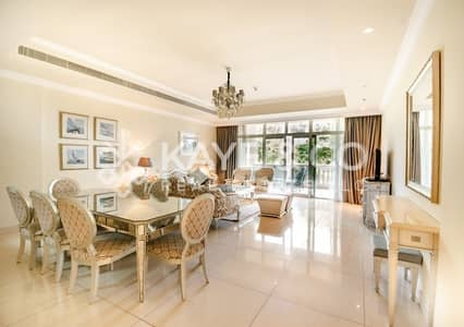 3 Bedroom Flat for Rent in Palm Jumeirah, Dubai - 3 Bedroom Plus Maid | Super Luxurious | Furnished