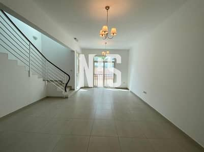 2 Bedroom Townhouse for Sale in Al Ghadeer, Abu Dhabi - SINGLE ROW STUNNING TOWNHOUSE !