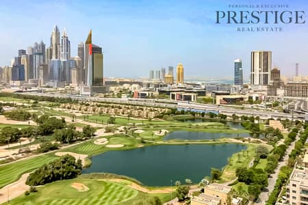 شقة 1 غرفة نوم للايجار في ذا فيوز، دبي - Spacious 1 bedroom + Study   Full Golf course View   Chiller Free