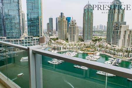 3 Bedroom Apartment for Rent in Dubai Marina, Dubai - Very Beautiful Lager 3 Bedroom + Maid Full Marina view