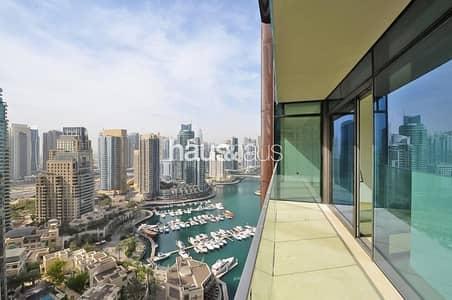 2 Bedroom Flat for Sale in Dubai Marina, Dubai - Marina View | Corner Unit | Rented