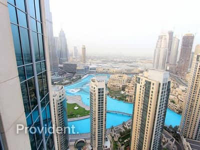1 Bedroom Flat for Sale in Downtown Dubai, Dubai - Spectacular Layout | Amazing View | Study
