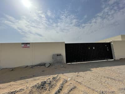 Warehouse for Rent in Al Saja, Sharjah - Land for rent 13,000 Sqft with office bath kitchen