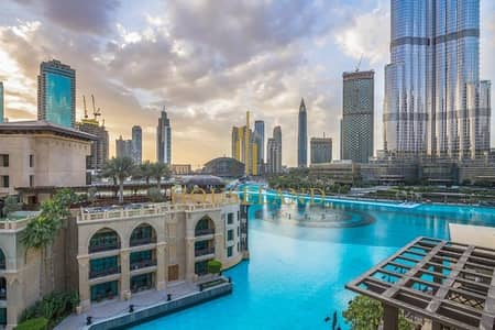 فلیٹ 1 غرفة نوم للايجار في وسط مدينة دبي، دبي - Upgraded Fully Furnished I Amazing View Grt Layout