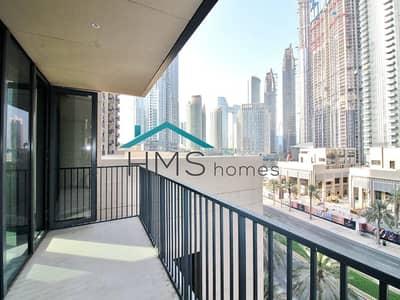 فلیٹ 2 غرفة نوم للايجار في وسط مدينة دبي، دبي - Boulevard Facing | 2 balconies | Brand New
