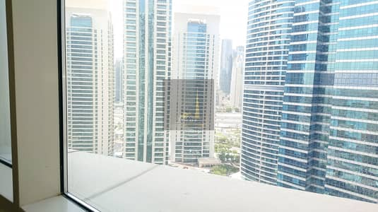 1 Bedroom Apartment for Rent in Jumeirah Lake Towers (JLT), Dubai - Fantastic One Bedroom Apartment | Mid Floor| Near Metro | No Balcony | Unfurnished | 4 Cheques