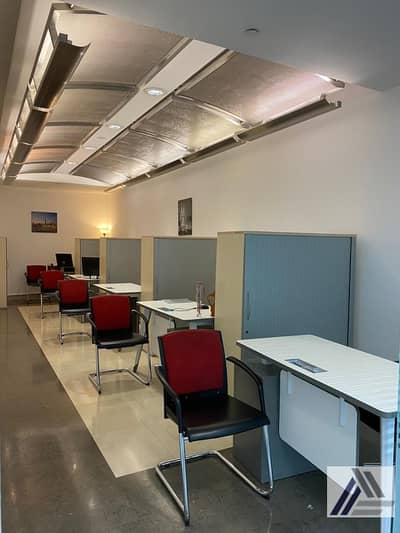 Office for Rent in Bur Dubai, Dubai - Co Working space | Flexi Desk office only AED 12000/-yearly All inclusive| linked with metro and Mall