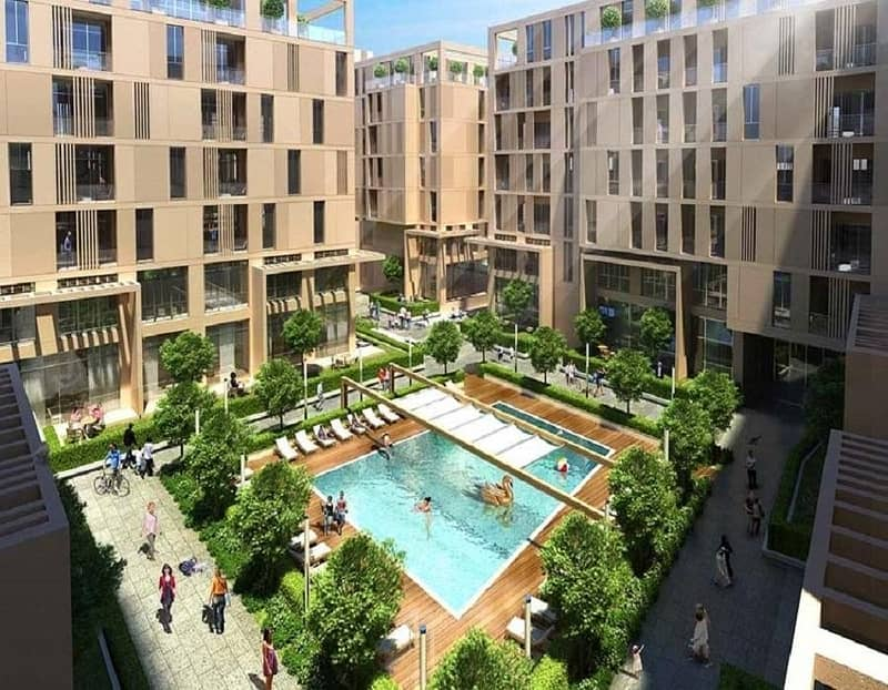 Fully furnished and equipped apartment for sale in Al-Mamsha new project in Sharjah