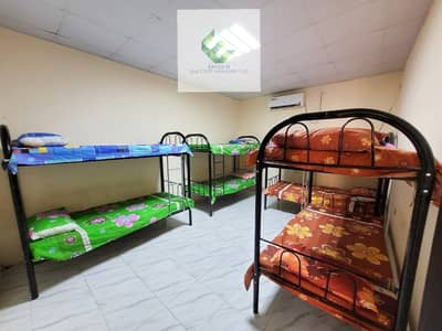 Labour Camp for Rent in Mussafah, Abu Dhabi - BED ROOM