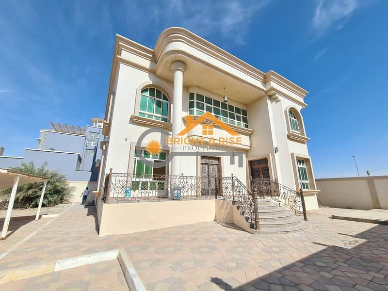 2 DELIGHTFUL 5 MASTER BEDROOMS VILLA WITH PRIVATE YARD IN MBZ