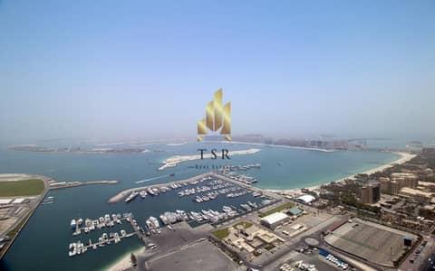 3 Bedroom Apartment for Sale in Dubai Marina, Dubai - Full Sea View | 3 BR+S | in Cayan Tower
