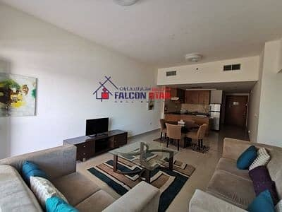 1 Bedroom Apartment for Rent in Downtown Jebel Ali, Dubai - LUXURY FURNISHED 1 BED | CLOSE TO METRO | HIGHER FLOOR | POOL VIEW