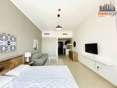 Studio for Rent in Jumeirah Village Circle (JVC), Dubai - Furnished Studio For Rent In Plaza Residence JVC
